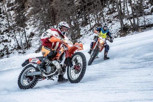 Moto: Ice Trophy; in Valle   si corre in moto sul ghiaccio