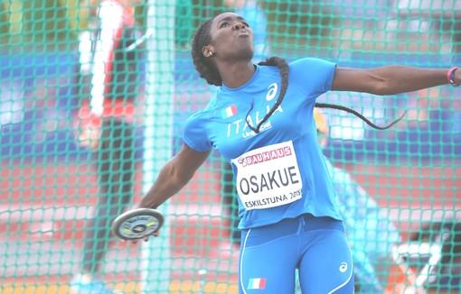 Atletica: Daisy Osakue un lancio da finale nella mattinata di Berlino