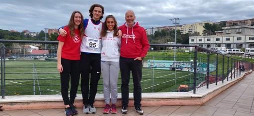 Valentina Cop, Gabriele Tesio, Eleonora Foudraz e Patrick Ottoz