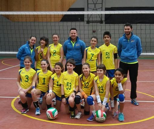 Volley F: U16, L'Aosta Volley fa a pezzi il Guarnieri
