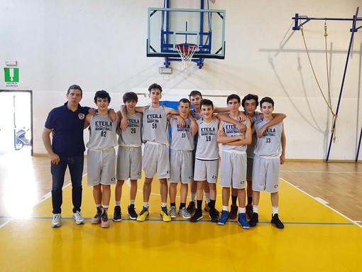Basket: U16, l'Eteila fa a pezzi il Reviglio