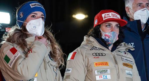 Marta Bassino e Federica Brignone. Si aspettavano qualcosa di più