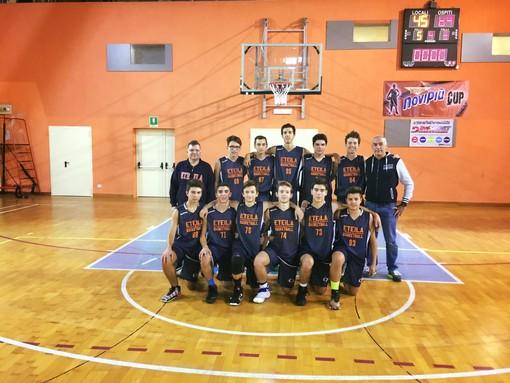 Basket: U16, l'Eteila di Artuso vince sul difficile campo di Vigliano