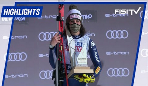 Federica Brignone trionfa nel superG in Val di Fassa   FISI TV