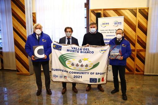 """Alla Comunità Valli del Monte Bianco il """"Premio promozione dei valori dell'attività sportiva"""""""
