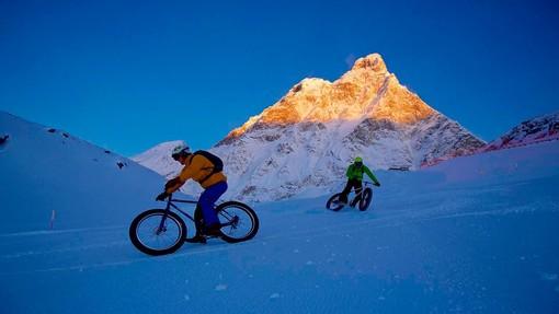 Causa brutto tempo rinviato Snow Bike del Cervino