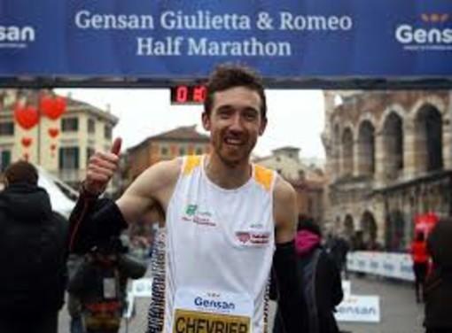 Podismo: Bronzo di Xavier Chevrier alla mezza maratona di Verona