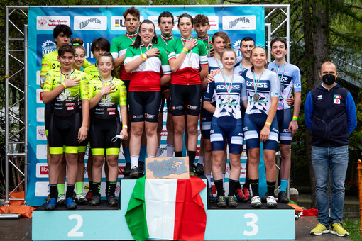 Ciclismo: Ai Valtellinesi del Melavi' Tirano Bike A.S.D il Campionato Italiano Team Relay per società 2021