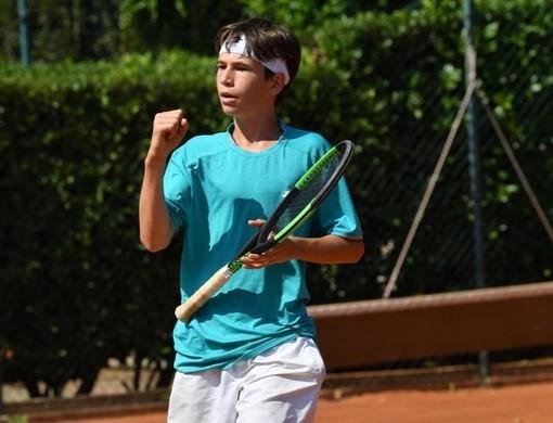 Tennis: E' d'argento la stella di Noah Canonico agli Italiani Under 12