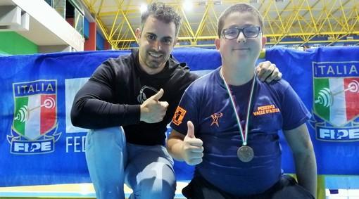 Julien Comé (dx) e Corrado Midolo