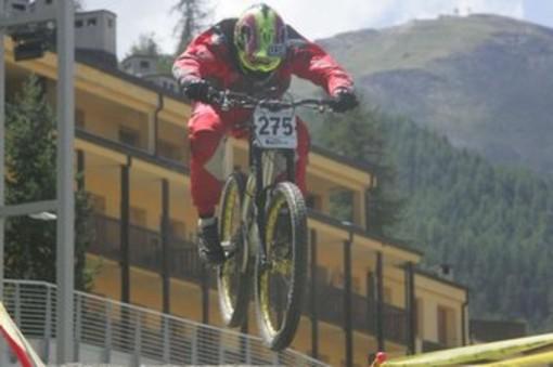 Ciclismo: Edoardo Franco argento M1 tricolore DH a Piazzatorre
