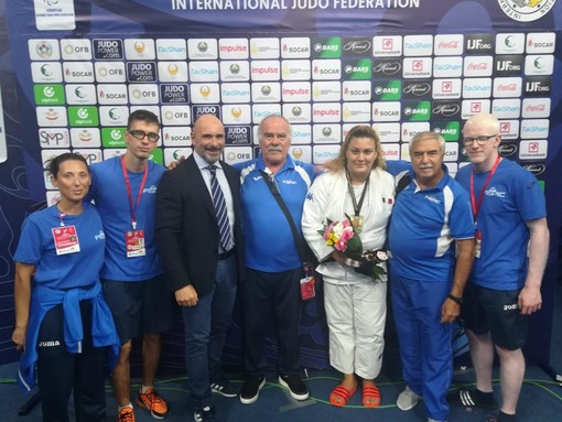 Judo: Carolina Costa medaglia d'oro al Grand Prix in Uzbekistan