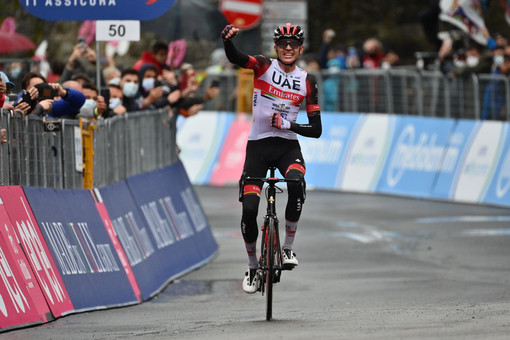 GIRO D'ITALIA: Joseph Dombrowski vince la tappa 4, Alessandro De Marchi è la nuova Maglia Rosa