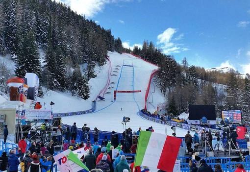 La Coppa del Mondo femminile di sci a La Thuile nel 2020 (immagine di archivio)
