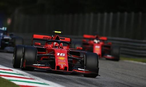 F1: Vittoria rossa a Monza con Leclerc su Ferrari