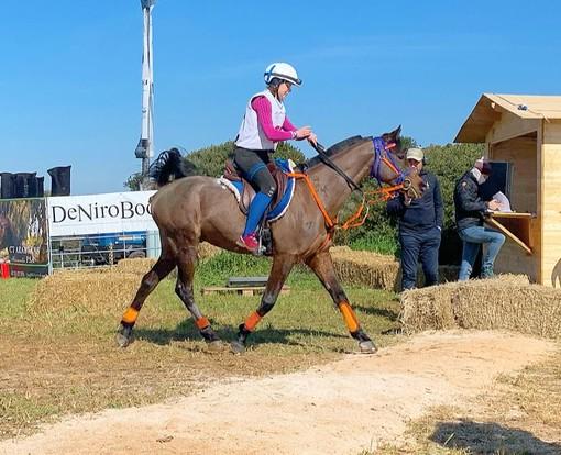 Equitazione: Endurance; in Puglia Martina Pisano conquista un entusiasmante secondo posto