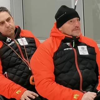Fabrizio Bich con Egidio Marchese (dietro)