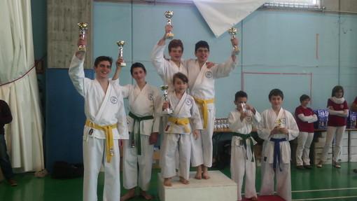 KATA: Sakura Karate-Do di Verres medagliata a Caluso