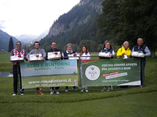 Da sn: Bodo Andrea,  Bettinelli Gianluca, Laurent Andrea, Scarienzi Andra (sponsor), Bo Caterina, Guala Chiara, Terragni Marinella e Girivetto Giulio