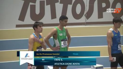 Atletica: Seyni (Atletica Cogne) si migliora agli italiani indoor