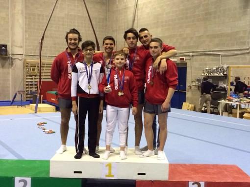 La squadra maschile di serie D della Gym Aosta