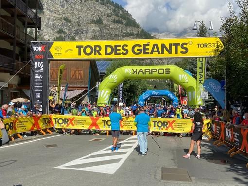 TORX: Tutti in gara gli 823 atleti del Tor des Geants -  IL VIDEO