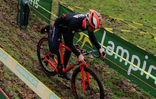 Ciclismo Filippo Agostinacchio ancora nella 'Top ten' nel Superprestige di Diegem