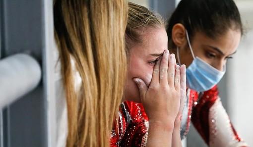 Il pianto di Alexia Angelini alla notizia della retrocessione in A1
