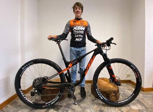 Ciclismo: Andreas Vittone nei migliori venti ai Mondiali Under 23 a Leolang