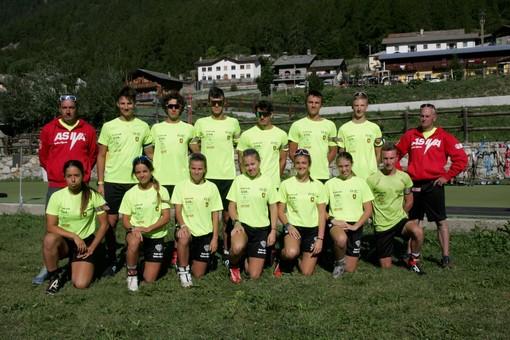 La squadra biathlon dell'Asiva