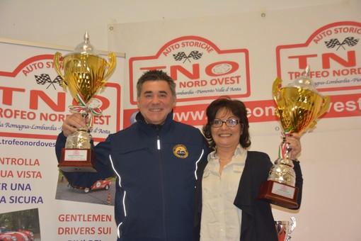Auto storiche: Andrea Malucelli e Cinzia Bruno sono i vincitori del Trofeo Nord Ovest 2019