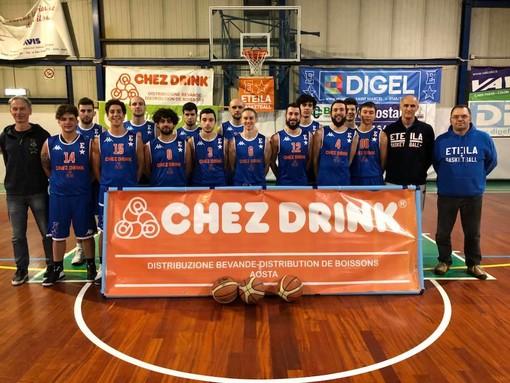Basket: Serie D, l'Eteila espugna il campo del Trino