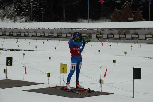 Biathlon: La squadra Asiva in allenamento a Brusson