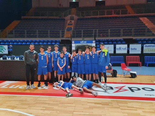 L'Under 14 dell'Eteila Basket