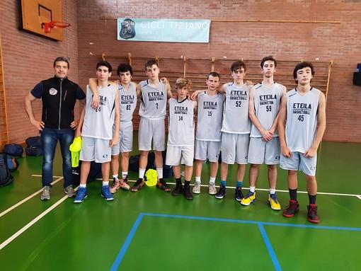 Basket: Dura sconfitta per l'U16 Eteila Basket contro il Vercelli