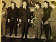 Antonio Brancaccio con il Presidente della Repubblica Giovanni Gronchi