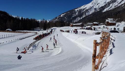 CpI Biathlon: cinque podi rossoneri nella Mass start di Bionaz