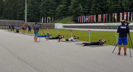 Biathlon: Nicole Gontier è tempo di preparazione