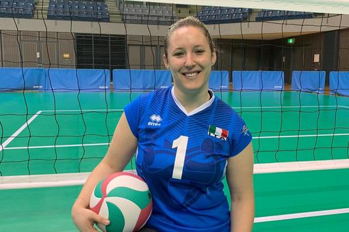 Giulia Bellandi. Ambiziosa e 'sfacciata', la numero 1 della Nazionale sitting volley