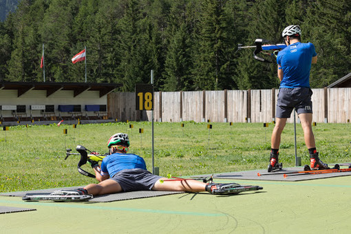 Biathlon: Training intenso per gli atleti Asiva