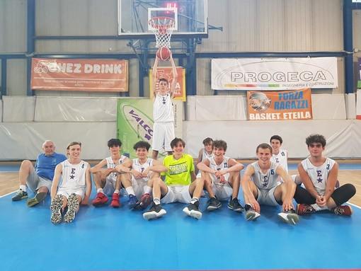 Basket: U18, l'Eteila soffre ma vince contro il Cus Torino