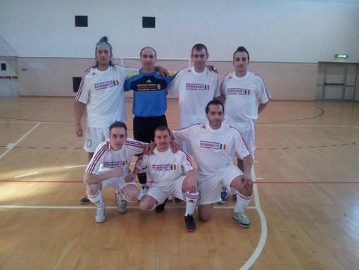 La formazione degli Stejari Aosta vincitrice del torneo