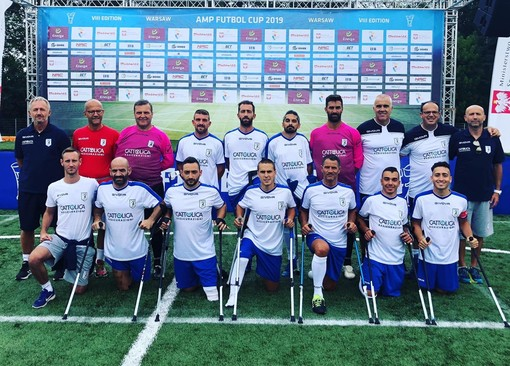 Calcio amputati: Italia in raduno a Carpi