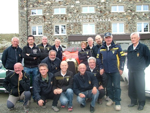 I membri dell'Associazione cronometristi Valle d'Aosta