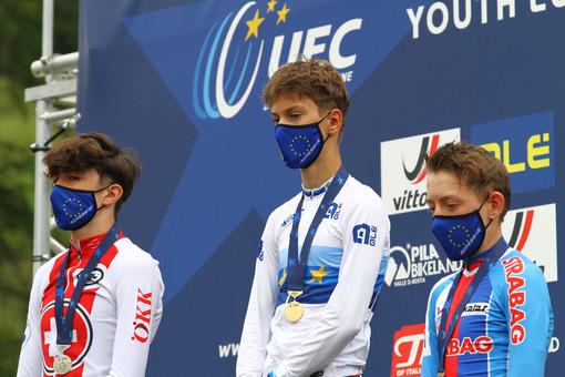 Il podio Allievi (foto credit Andrea Chiericato)