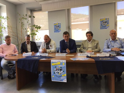 Da sn Fulvio Centoz, Piero Marchiando, Carlo Marzi, Angelo Pescarmona, Mauro Baccega , Giorgio Galli