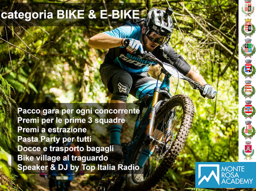Enduro: A Gressoney la Enduro Bike a squadre