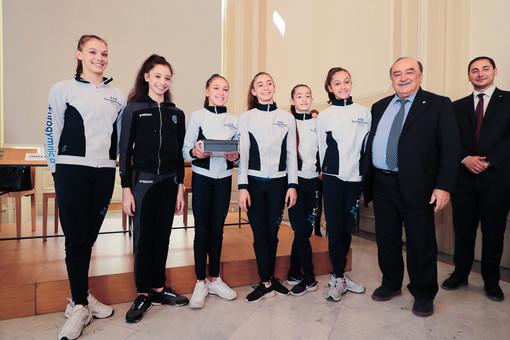 L'Olimpia e la Gym di Aosta a Torino per i 150 anni della Federazione Ginnastica d'Italia