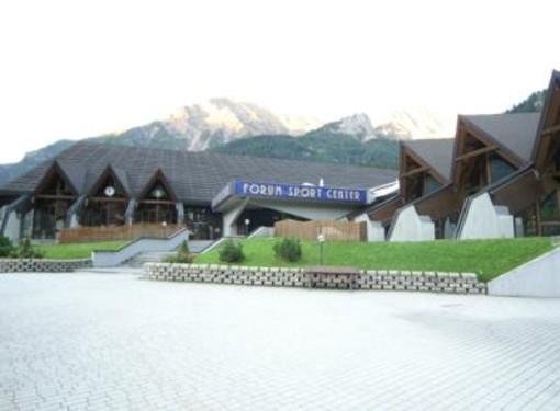 Riapre il Forum Sport Center di Courmayeur