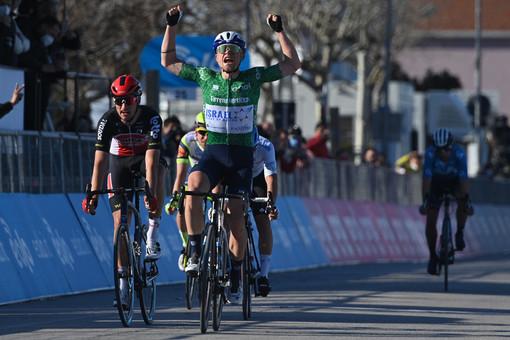 Ciclismo: Mads Würtz Schmidt ha vinto la sesta tappa della Tirreno-Adriatico Tadej Pogačar ancora in Maglia Azzurra